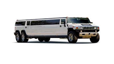 Hummer Double Axle White Hummer Limo